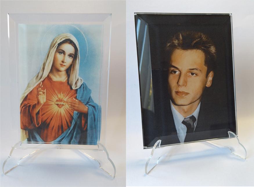 zdjęcia na krysztale